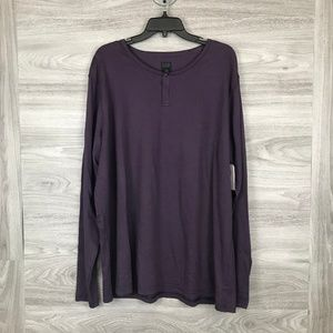 14th & Union Refined Long Sleeve Henley